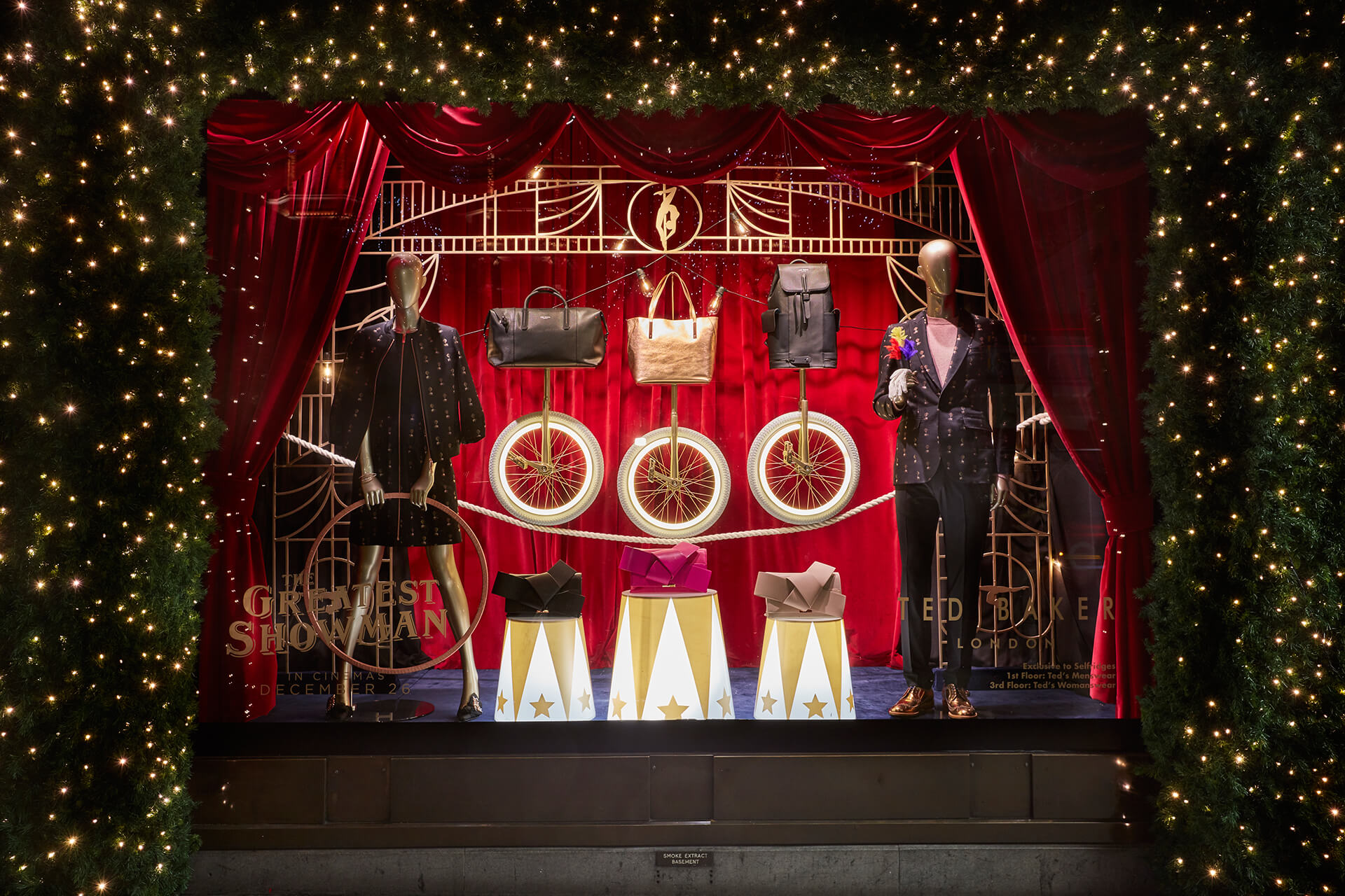 Ted Baker, Selfridges, Oxford Street, London – Window Display