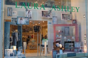 Laura Ashley visual merchandising window display bespoke props prop manufacturer retail design