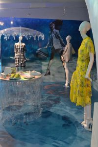 Oasis fashion ss18 make a splash pressday event bespoke manufacture