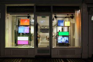 Browns window display prop manufacturing visual merchandising