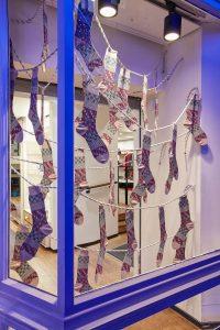 Browns Christmas visual merchandising retail design window display bespoke props prop manufacture