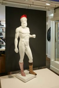 Browns Christmas visual merchandising retail design window display bespoke props prop manufacture
