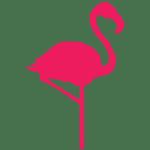 hello flamingo icon