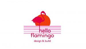 hello flamingo background image