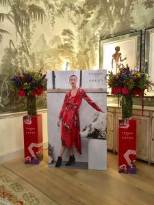 LK Bennet plinths PREEN retail design window display press event retail design bespoke props