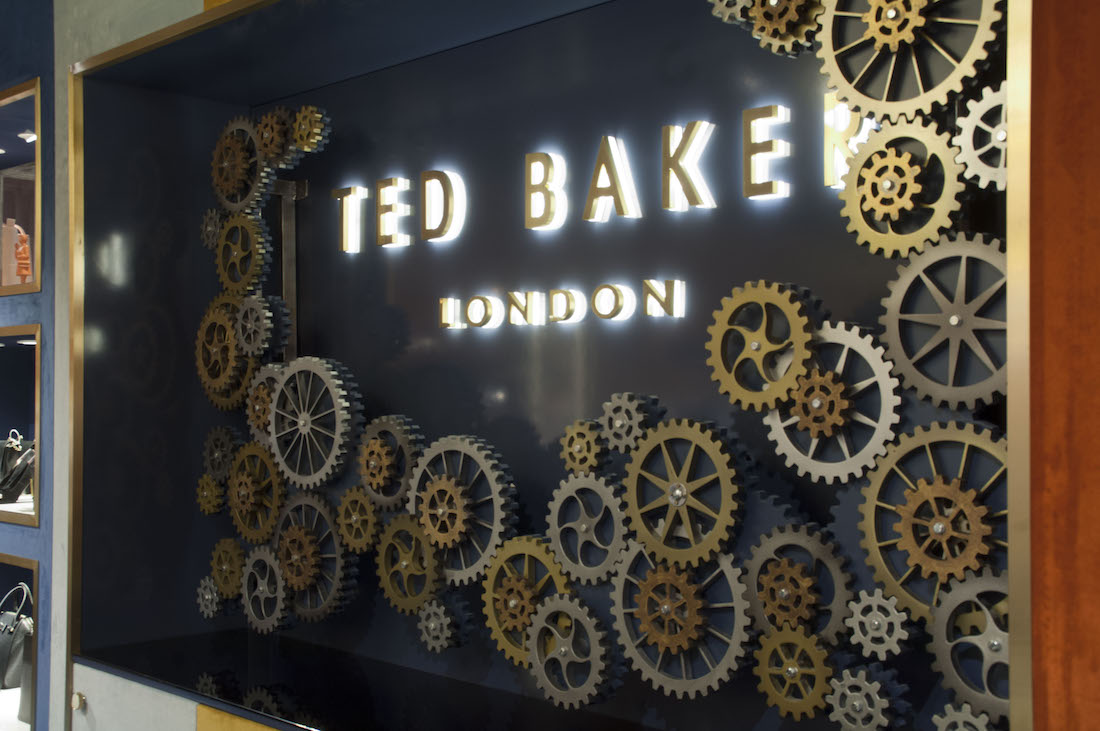 Ted Baker - Barcelona Airport, prop manufacturing